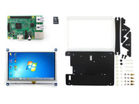Wholesale RPi2 B Package E Raspberry Pi Model B inch HDMI LCD Touch Display Bicolor case GB Micro SD card