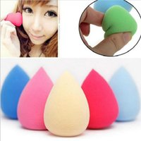 Wholesale by DHL500pcs Makeup Foundation Sponge Blender Blending Puff Flawless Powder Smooth Beauty Cosmetic