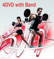 Wholesale 21day DVDS fitness Fast Shipment Slimming Training Set Alpha Beta Gamma Core Speed Workout dics