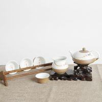 Cheap Hot new Chinese New Oriental lotus tea sets furniture, home furnishings soft furnishings tearoom tea sets