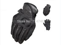 Wholesale OEM Mechanix Wear M Pact Knuckle Protection Motorcycle Military Tactical army Cycling Full Finger Gloves Airsoft racing