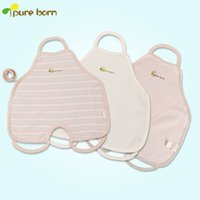 apron shirt - organic cotton apron baby underwear newborn baby even foot apron baby cotton apron protecting anti cold Y