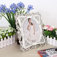 Wholesale European high grade green pearl photo frame inch inch inch diamond wedding table frame