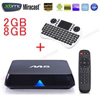 best keyboard mouse - 5 Pieces Amlogis S802 S812 G G Android M8 TV Box RII I8 Air Mouse and Keyboard Via USB Built in WiFi Best TV Receiver