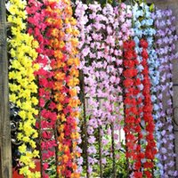 azalea sale - 10pcs Cuckoos Flower Vine Rustic Artificial Ivy Flowers rattan Azalea Artificial Rattan Wedding Decorative Flower hot sale
