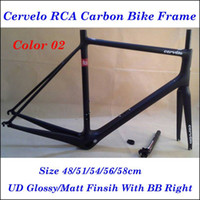 cervelo - Factory Price Cervelo RCA R5 Road Carbon Bike Frame UD Finish Road Bicycle Frames With BB Right cm Bike Parts