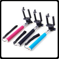 Wholesale New Gopro Aluminium Telescopic Handheld Monopod with Tripod Mount Adapter for Gopro HD Camera Hero With Black Blue Rose