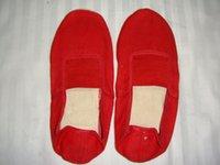 Al por mayor-Spot La oferta de Danza Ballet Mujeres Zapatos prácticos Dos Bottom zapatos de tacón alto es adecuado para Jump mostrar exactamente Gracefulness