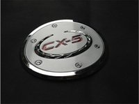 Wholesale Chrome oil fuel filler cap Fuel Gas Cover Cap Trim for Mazda CX CX5 pc