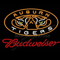 auburn tigers basketball - NCAA College Basketball Auburn Tigers Budweiser neon sign lighting quot x17 quot lampada led flashlight Glass