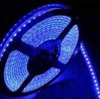 Wholesale SMD5050 RGB waterproof strip Transparent beads FLEXIBLE STRIP WATERPROOF DC V LED M HIGH BRIGHTNESS RGB
