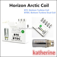 arctic shipping - Horizon Arctic Coil Bottom Turbine Coil Bottom Turbine Dual Coil BTDC Dual Coils ohm ohm for Arctic Tank Fast Shipping