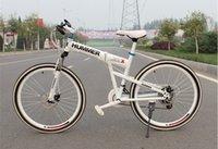 folding bike - 21 speed inch folding dual damping dual brake Shimano TX30 gear shift mountain bike EOM