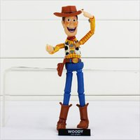 One-shoulder action stories - Toy Story Series Speical NO Sci Fi Revoltech Woody PVC Model Action Figure Doll For Children New Arrival