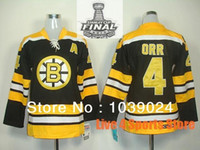 best wife - 2015 Women Bobby Orr Jersey Girls Boston Bruins A Home Black Jersey Best Gift For Wife This Stitched Boston Bruins Womens Jerseys