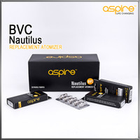 Cheap Aspire Nautilus Tank Coils 1.6ohm 1.8ohml Atomizer BVC Head Coils For Aspire Nautilus and Nautilus mini Adjustable Airflow Tank Clearomizer