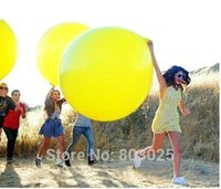 Wholesale Super Large Solid Colored Latex Balloons Pearl Round Balloons Big Balloons For Wedding Party