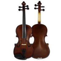 Wholesale Made in china Vinolin Snowpine MV1411 all Solid violin musical Spruce top Case bow rosin strings