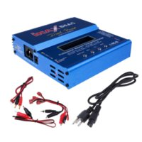 battery powered rc boats - 80W Original iMAX B6AC Dual Power Lipo NiMH RC Battery Balance Charger Discharger for Helicopter Boat Car Toy