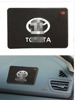 Wholesale car anti slip mat Dashboard pad for TOYOTA Corolla Camry Vitz Highlander CROWN RAV4 REIZ Prado LAND CRUISER Venza