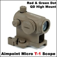 riflescopes red dot - Riflescopes Aimpoint NO Micro T1 Quick Mount Red Green Dot Scope Riflescope High Quality