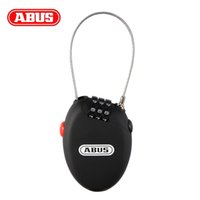abus bicycle lock - icycle Accessories Bicycle Lock ABUS Bike Bicycle Cycling Portable Digit Code Combination Mini Security Lock Steel Cable Spiral Protect