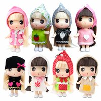 Wholesale 2016 HOT SALE NEW Korean genuine confused doll simulation DDUNG Bobbi Doll Girl Toy Mini Princess Doll children doll
