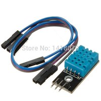 Wholesale Hight Quality V DHT11 Temperature and Relative Humidity Detection Sensor Module For Arduino
