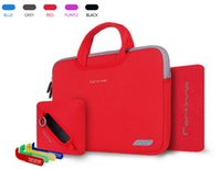 china wholesale handbags - 4 in Cartinoe Breath Series Laptop case printing accessories bag Nylon Lyc Handbag color cover for Macbook Air Pro inch