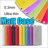 pp plastic case - Apple Case Ultra Thin PP Case Slim Matt Case Plastic Hard Cases For Iphone S Case for GalaxyS6 for iphone s
