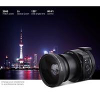 Wholesale AMKOV OX5 AMK OX5 JQ Mini Wifi Selfie Lens style Digital Camera MP X digital X Optical Zoom Full HD P Video Camcorder