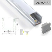 aluminum wall base - 2015 aluminum led profile m Recessed LED Light Surface Mounting Linear Wall lamp based on led strip light ALP004R free shiping