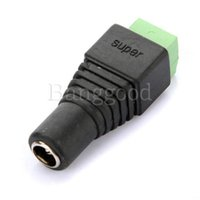 Wholesale Female mm x mm for DC Power Jack Adapter Connector Plug For CCTV Camera
