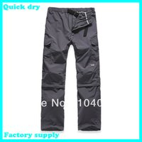 best outdoor pants - Best price Fashion Outdoor UV Resistant Fast Drying Speed men s Quick Dry Pants fishing Active Pants soprt trousers