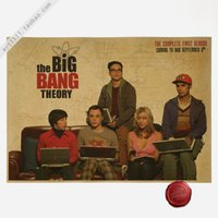 big bang theory vinyl - THE BIG BANG THEORY Vintage paper Poster Wall Bar Home Art Decoration Painting x30CM
