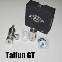 Replaceable 5ml Metal NEW Arrival taifun GT-T Rebuildable Tank Atomizer stainless steel vs taifun gt-s taifun gt2 taifun gt