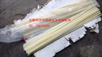 Wholesale Flat double stranded ABS beige white material plastic electrode plastic welding rod plastic rods