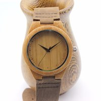 antique wood box - Retro Classic Bamboo Wooden Watch japanese miyota movement wristwatches genuine leather bamboo wood watches for men women gift box