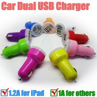 Electronic Cigarette charger ipad mini - Dual USB Car Charger Trumpet buglet mini Universal Adapter passthrough for electronic ipad iphone S PDA MP4 e cig smart Cell phone