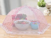 Wholesale New Practical Home Using Food Covers Kitchen Special Tools Umbrella Style Food Cover Anti Fly Mosquito