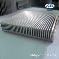 Wholesale Fin heat sink aluminum factory direct comb radiator sunflowers