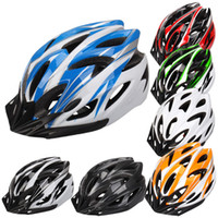 Wholesale 7 Colors Ultralight Cycling Helmet Breathable Bicycle Helmet Women Men Integrally molded Bike Helmet Visor CYC_807