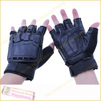 ak games - pair AK Transformers military tactical gloves outdoor war game fans airgun turtle protective gloves Half finger