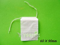 herbal tea bags - 100pcs X mm Empty tea bag Double drawstring tea filters Food grade Filter paper bags disposable clean Herbal tea bags