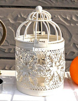 Wholesale Bird Cage Decoration Candle Holders Bird Cage Wedding Candlestick