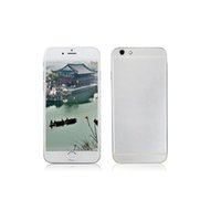 Wholesale 32GB GB GB Goophone i6 Phones inch Android Phone i6 Dual Core Cell Phones MB RAM G ROM MTK6572 Mobile Phones