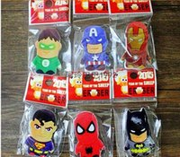 Wholesale 300pcs Fashion Movie Characters Avengers Round Rubber Pencil Eraser Student Staionery Set A322