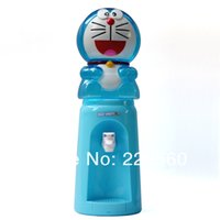 Wholesale Piece Liters DORAEMON Style Mini Water Dispenser Glasses Water Dispenser