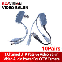 balun power - CCTV CAT5 RJ45 Balun Video Audio Power for camera Pairs