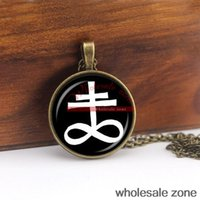 altar cross - WZA1046 fashion jewelry LEVIATHAN CROSS pendant ritual altar pendant satanic occult pendant NECKLACE